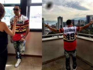 Indignación en Colombia por la camiseta del reggaetonero J. Álvarez