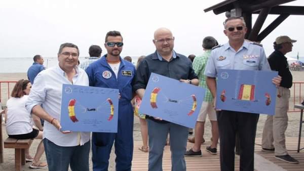 Antonio Moreno Ferrer en el Air Show de Torre del Mar