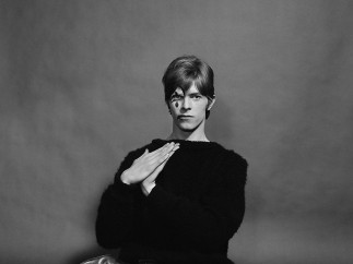 Gerald Fearnley - David Bowie, 1967 [sin título, 1]