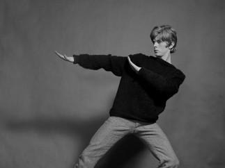 Gerald Fearnley - David Bowie, 1967 [sin título 2]