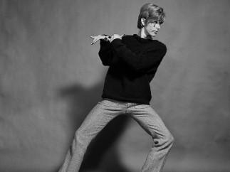 Gerald Fearnley - David Bowie, 1967 [sin título 7]