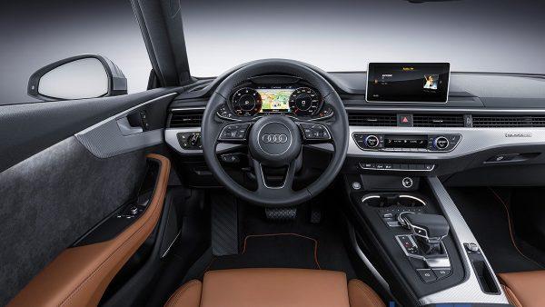 Interior del Audi A5 Coupé