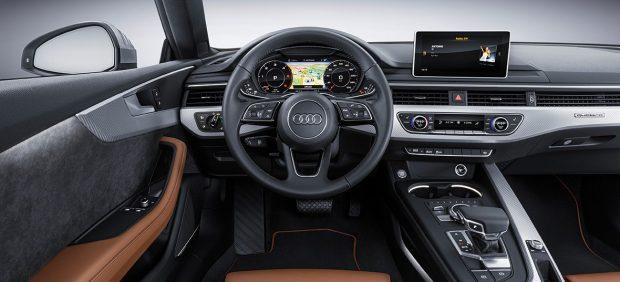 Imagen del interior del Audi A5 Coupé
