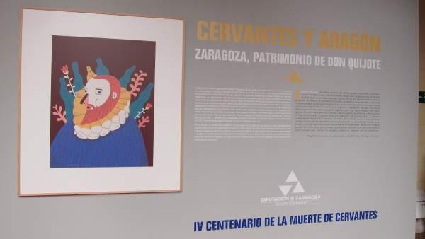 El Palacio de Sástago acoge una exposición sobre Cervantes y el Quijote