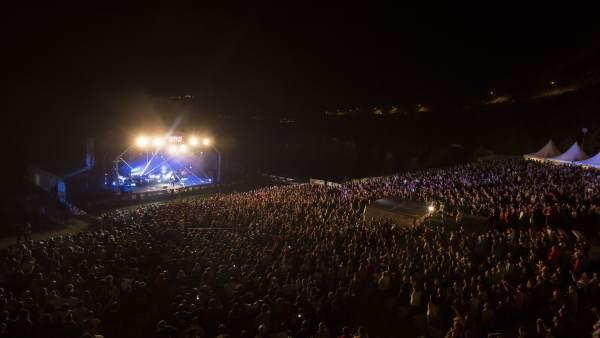 Concierto de Bunbury en Pirineos Sur 2016