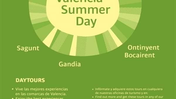 Cartel del Valencia Summer Day