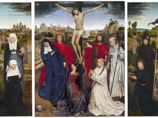Hans Memling, The Triptych of Jan Crabbe, ca. 1467-70