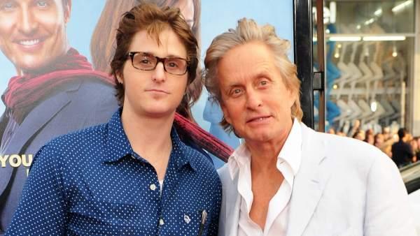 Michael Douglas y su hijo