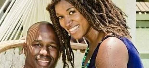 Antonio Armstrong y su esposa