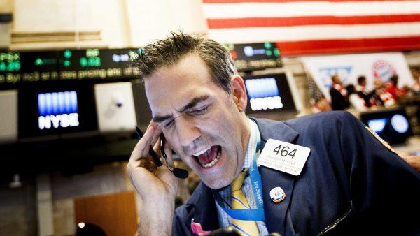 Estrés en Wall Street