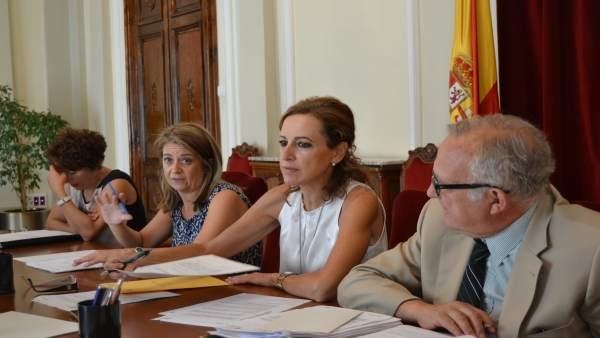 La subdelegada del Gobierno en Huesca, María Teresa Lacruz