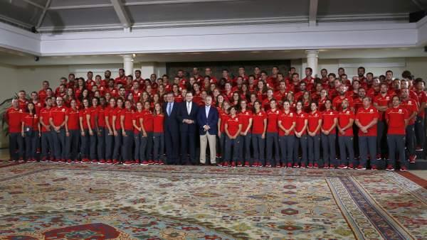 Delegación española para los Juegos de Río