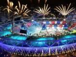 Simulación inauguración Juegos de Río