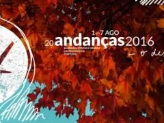 Cartel del festival de Andanças.