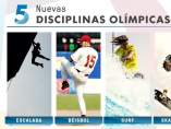 Cinco nuevos deportes olímpicos