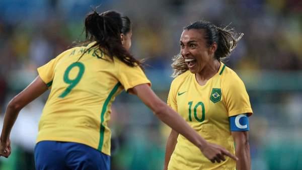 Brasil-China, fútbol femenino