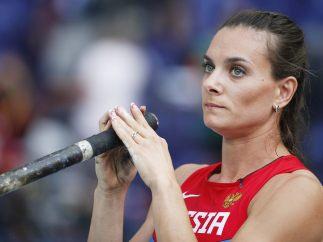 Yelena Isinbayeva (Salto con pértiga)