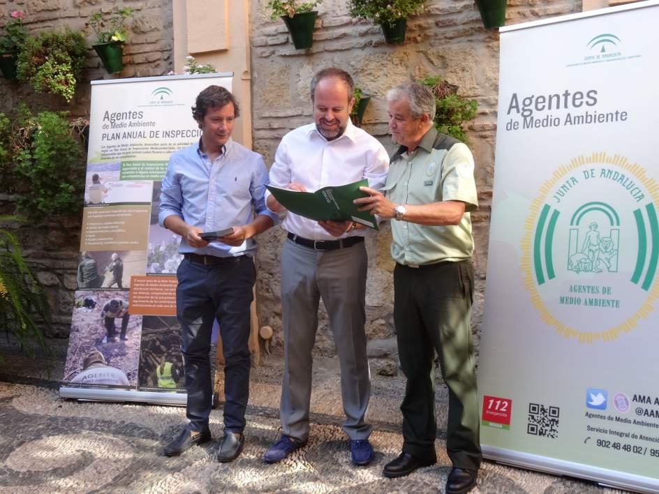 Los Agentes de Medio Ambiente de la Junta realizaron en Córdoba más de 4.500 inspecciones en el primer semestre