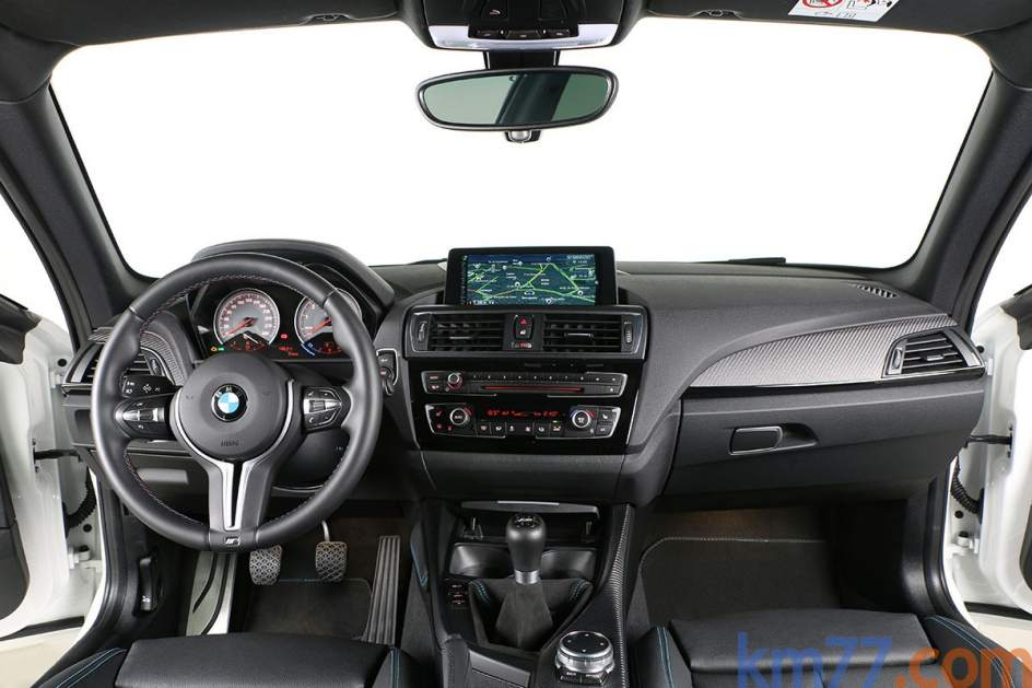 Aspecto interior del BMW M2 Coupé