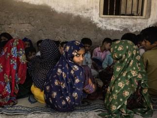 Malin Fezehai - Students in the coastal fishing community Haji Karfoor Jatt