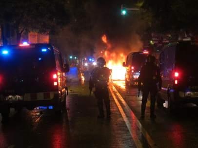 Disturbios tras el desalojo de Can Vies