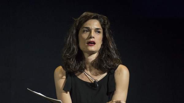 La responsable del Área de Igualdad de Podemos, Clara Serra