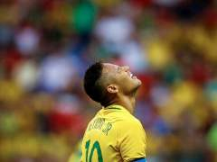 Neymar, en el Brasil vs. Sudáfrica en Río