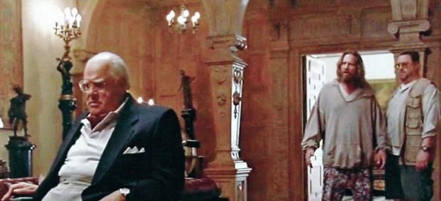 Huddleston, durante una secuencia de