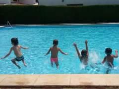'Otitis de piscina' en niños