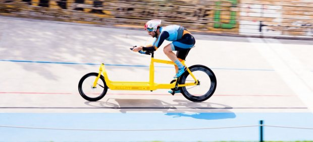 Récord en bicicleta Bullitt Cargo