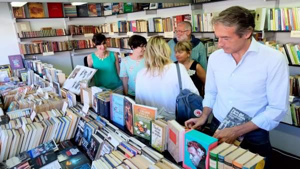 Inauguración de la Feria del Libro Viejo