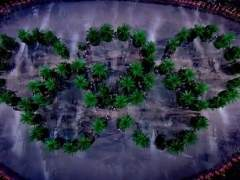 Los renovados aros olímpicos ecologistas parecen de marihuana