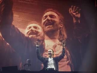 Guetta, en el concierto de Benidorm