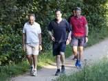 Rajoy, de senderismo en Pontevedra