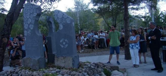 Homenaje en Biescas por el 20º aniversario de la tragedia