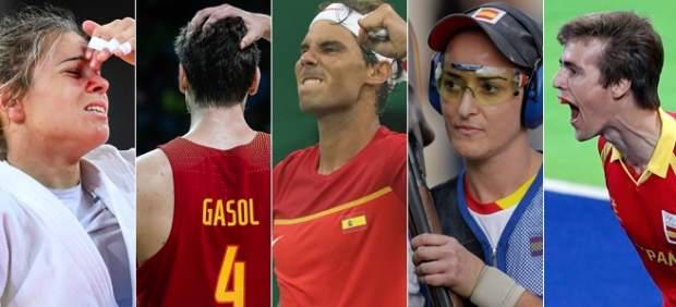 Españoles en Río este domingo 7 de agosto