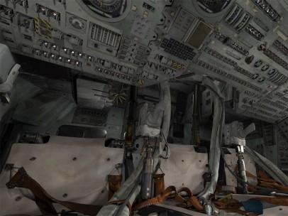 3-D Rendering astronaut seats
