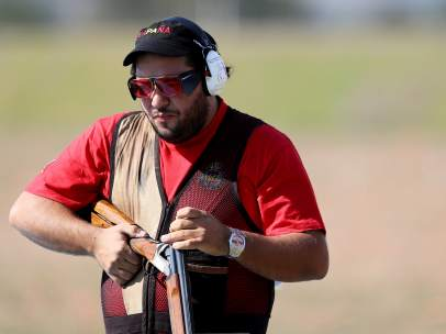 Alberto Fernández tiro Juegos Olímpicos