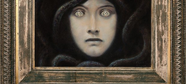 Franz von Stuck, Head of Medusa, c. 1892