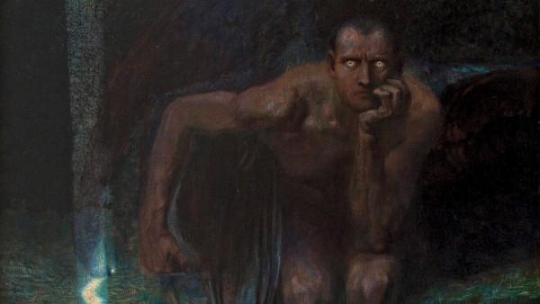 Franz von Stuck, Lucifer, 1890/1891