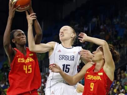 España cae derrotada estrepitosamente ante EEUU (103-63)