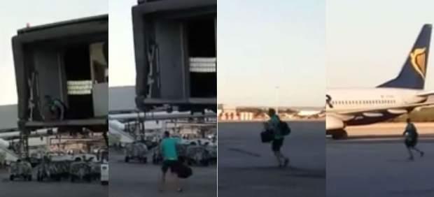 Un pasajero pierde el avión en Barajas