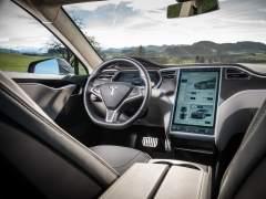 Interior del Tesla Model S