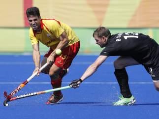 España gana 3-2 a Nueva Zelanda en hockey sobre hierba en los Juegos Olímpicos de Río 2016