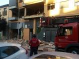 Explosión en una vivienda de Tudela