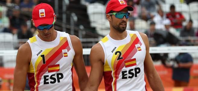 Los españoles Herrera y Gavira vencen ante los estadounidenses Gibb y Patterson