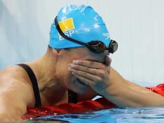 Mireia Belmonte gana la medalla de oro en los 200 mariposa en Río 2016