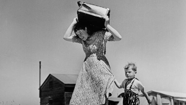 Arriving immigrants. Haifa. Israel. 1949-50