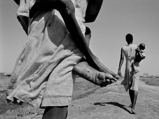 South Sudanese displaced. Kosti. Sudan. 1988