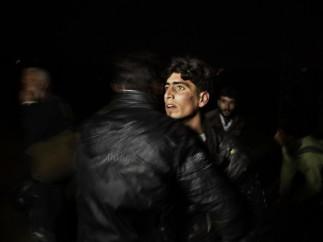 Along the Turkey-Syria border, March, 2012
